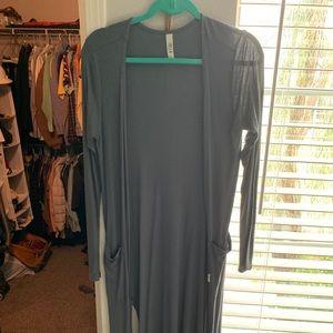 Tops - Long cardigan.